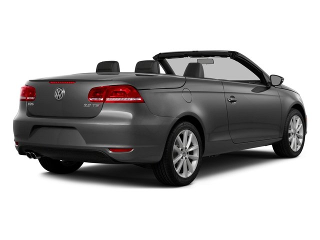 2015 Volkswagen Eos Prices and Values Convertible 2D Executive I4 Turbo side rear view