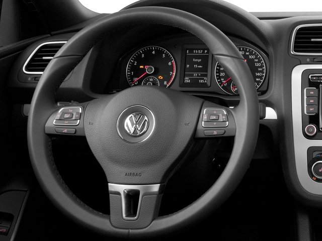 2015 Volkswagen Eos Prices and Values Convertible 2D Executive I4 Turbo driver's dashboard
