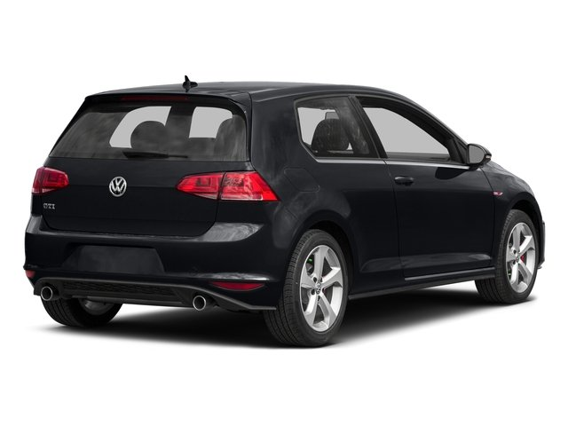 2015 Volkswagen Golf GTI Pictures Golf GTI Hatchback 2D S I4 Turbo photos side rear view