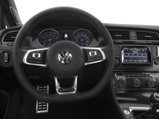 2015 Volkswagen Golf GTI Prices and Values Hatchback 4D Autobahn I4 Turbo driver's dashboard