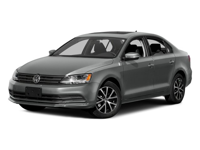 2015 Volkswagen Jetta Sedan Prices and Values Sedan 4D SE I4 Turbo side front view