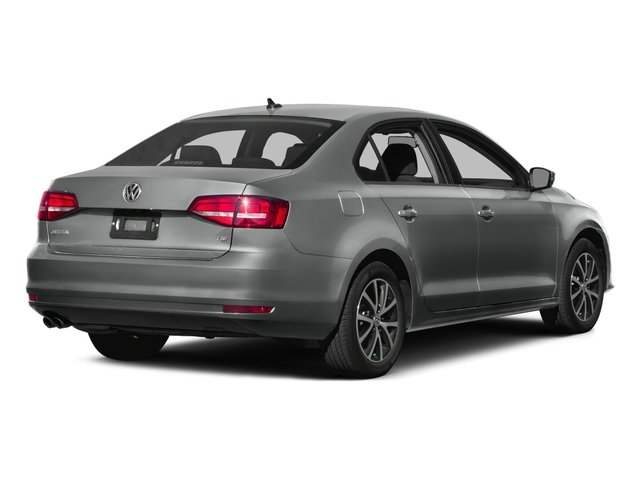 2015 Volkswagen Jetta Sedan Prices and Values Sedan 4D I4 Manual side rear view