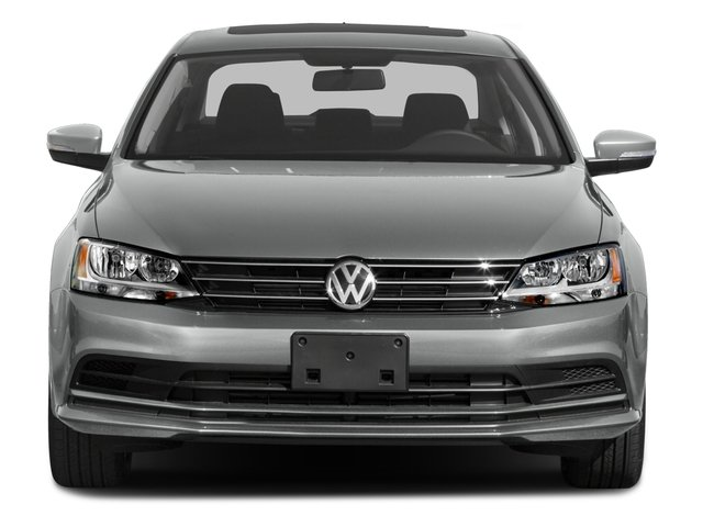 2015 Volkswagen Jetta Sedan Prices and Values Sedan 4D SE I4 Turbo front view