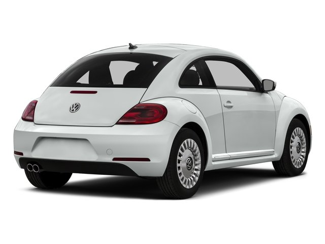 2015 Volkswagen Beetle Coupe Prices and Values Convertible 2D 1.8T I4 Turbo side rear view
