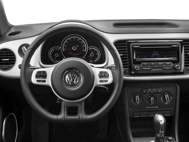 2015 Volkswagen Beetle Coupe Prices and Values Convertible 2D 1.8T I4 Turbo driver's dashboard