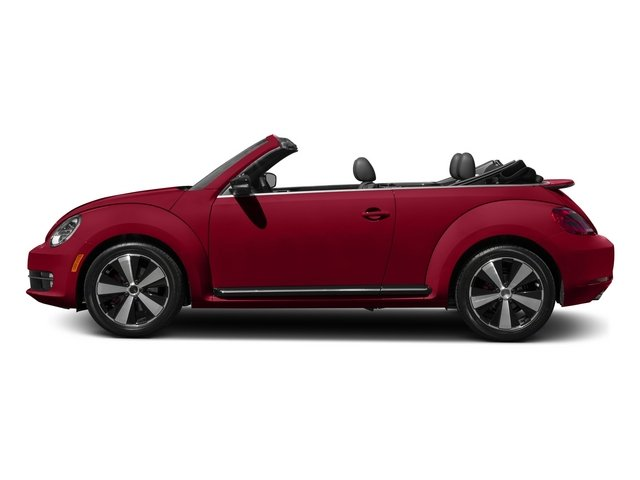 2015 Volkswagen Beetle Convertible Pictures Beetle Convertible Convertible 2D R-Line I4 Turbo photos side view