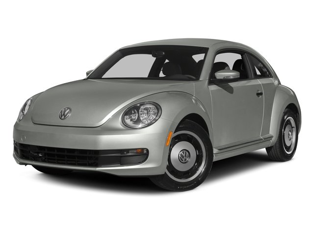 2015 Volkswagen Beetle Coupe Prices and Values Coupe 2D 1.8T Classic I4 Turbo side front view