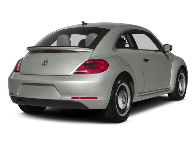 2015 Volkswagen Beetle Coupe Prices and Values Coupe 2D 1.8T Classic I4 Turbo side rear view