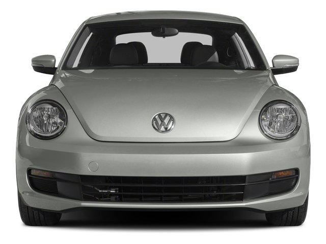 2015 Volkswagen Beetle Coupe Prices and Values Coupe 2D 1.8T Classic I4 Turbo front view