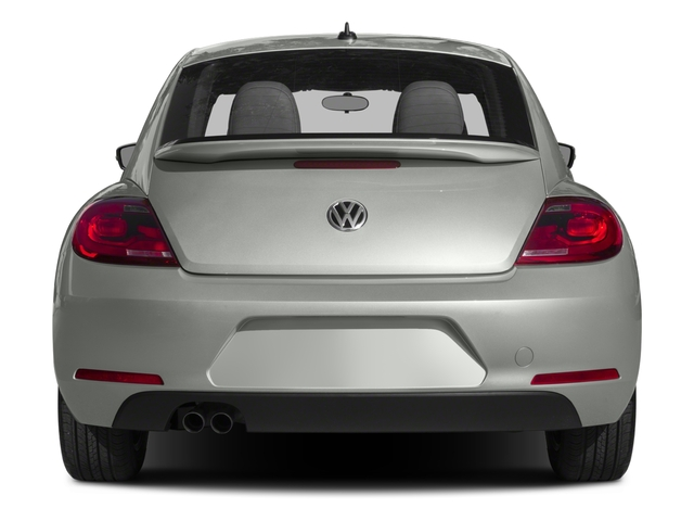 2015 Volkswagen Beetle Coupe Prices and Values Coupe 2D 1.8T Classic I4 Turbo rear view