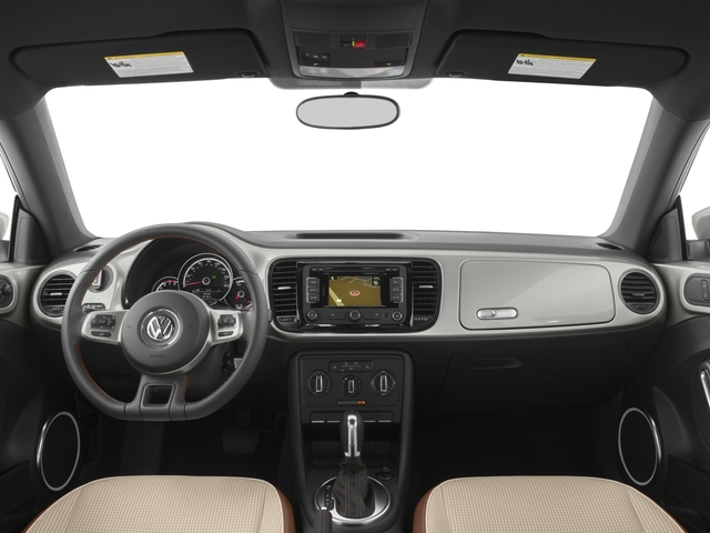 2015 Volkswagen Beetle Coupe Prices and Values Coupe 2D 1.8T Classic I4 Turbo full dashboard