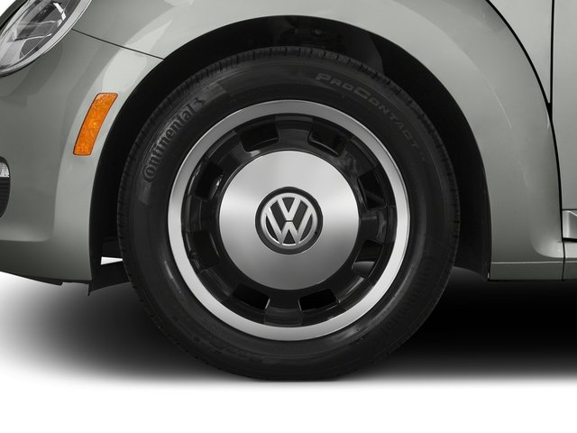 2015 Volkswagen Beetle Coupe Prices and Values Coupe 2D 1.8T Classic I4 Turbo wheel