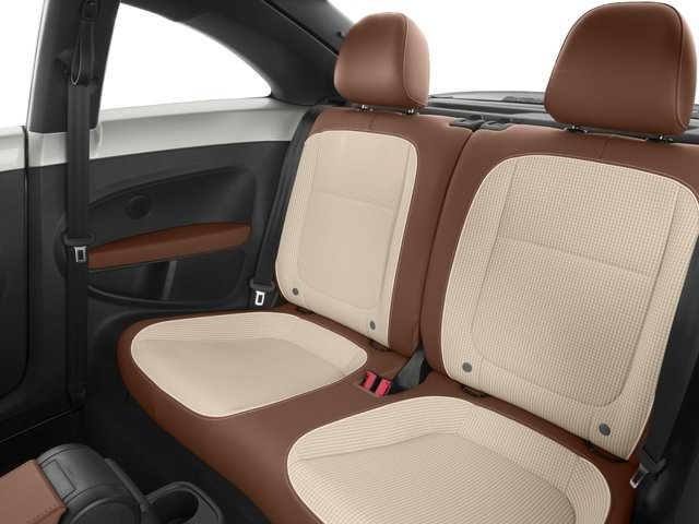 2015 Volkswagen Beetle Coupe Prices and Values Coupe 2D 1.8T Classic I4 Turbo backseat interior