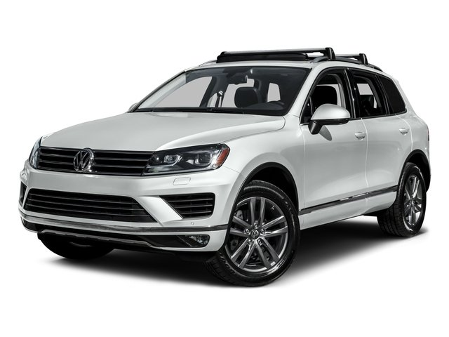 2015 Volkswagen Touareg Prices and Values Utility 4D Sport AWD V6 side front view