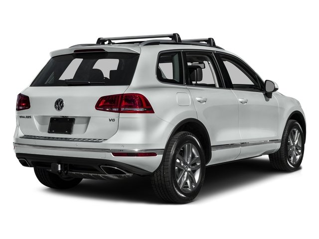 2015 Volkswagen Touareg Prices and Values Utility 4D Sport AWD V6 side rear view