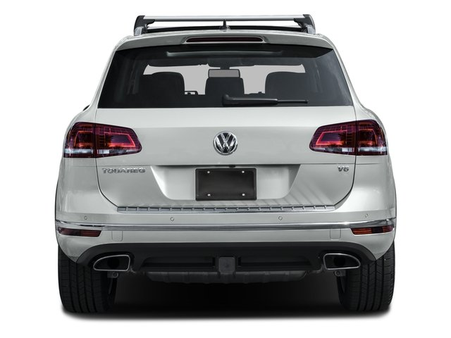 2015 Volkswagen Touareg Prices and Values Utility 4D Sport AWD V6 rear view