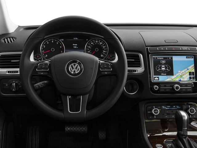 2015 Volkswagen Touareg Prices and Values Utility 4D Sport AWD V6 driver's dashboard
