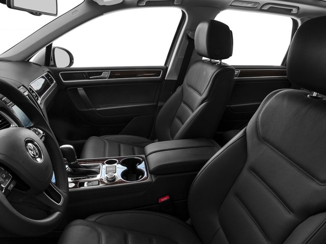2015 Volkswagen Touareg Prices and Values Utility 4D Sport AWD V6 front seat interior