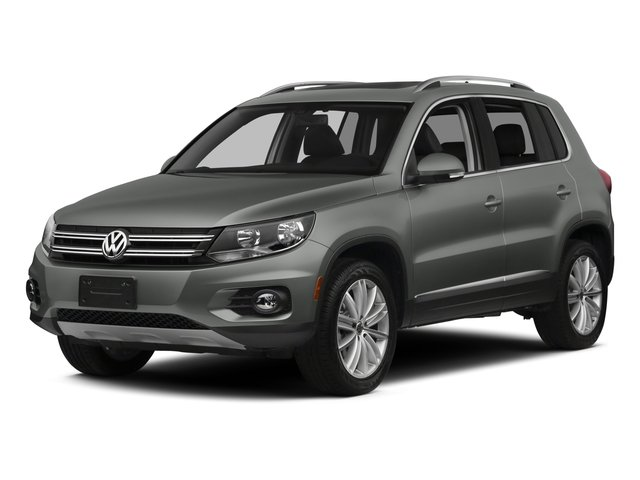 2015 Volkswagen Tiguan Pictures Tiguan Utility 4D R-Line AWD I4 Turbo photos side front view