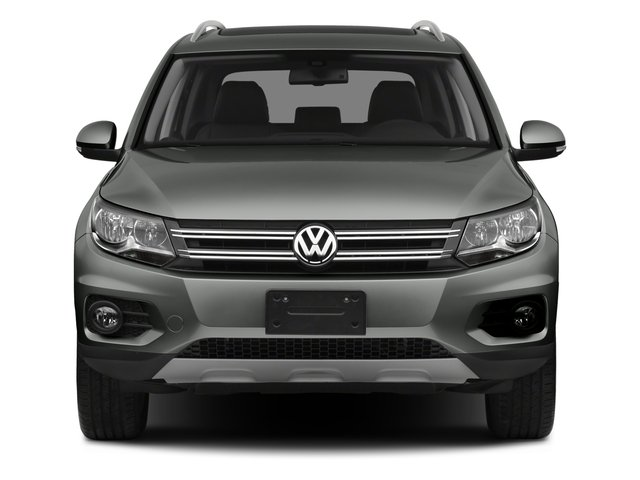 2015 Volkswagen Tiguan Pictures Tiguan Utility 4D R-Line AWD I4 Turbo photos front view