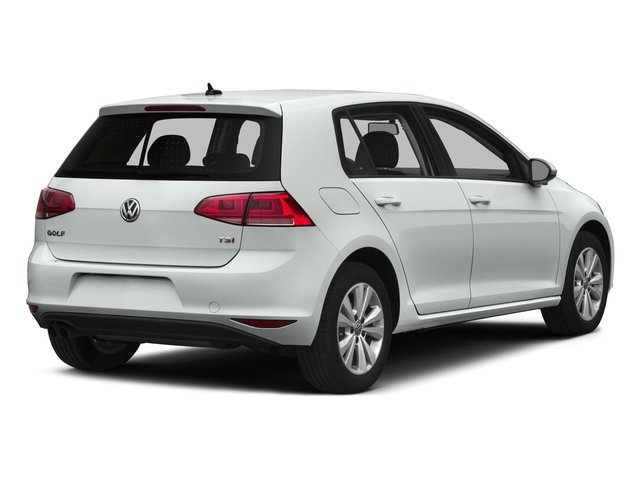 2015 Volkswagen Golf Prices and Values Hatchback 4D TDI SE I4 Turbo side rear view
