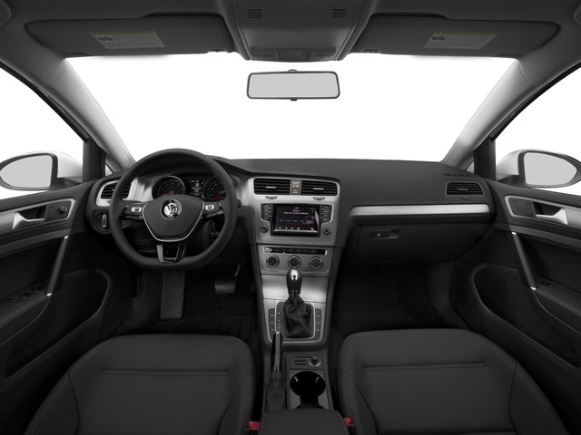 2015 Volkswagen Golf Prices and Values Hatchback 4D TDI SE I4 Turbo full dashboard