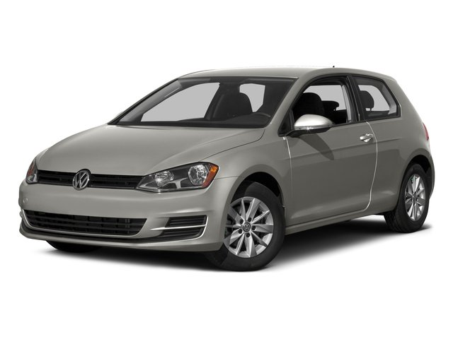 2015 Volkswagen Golf Prices and Values Hatchback 2D Launch Edition I4 Turbo side front view