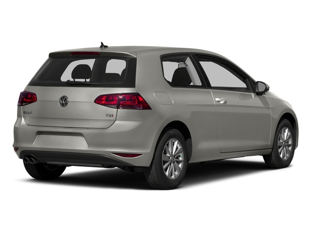 2015 Volkswagen Golf Prices and Values Hatchback 2D Launch Edition I4 Turbo side rear view