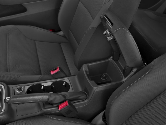 2015 Volkswagen Golf Prices and Values Hatchback 2D Launch Edition I4 Turbo center storage console