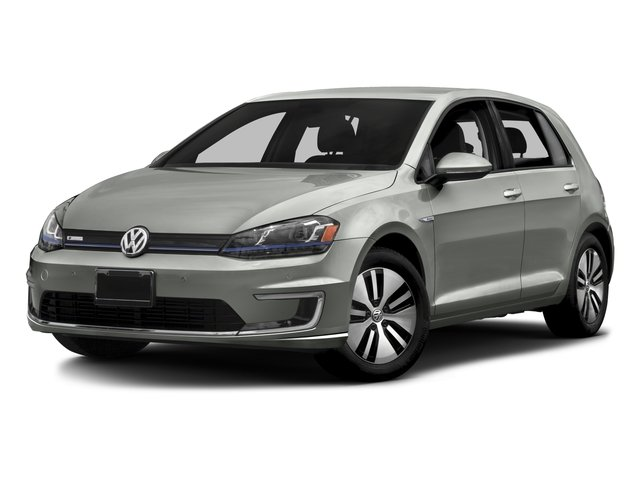 2015 Volkswagen e-Golf Pictures e-Golf Hatchback 4D e-Golf Electric photos side front view