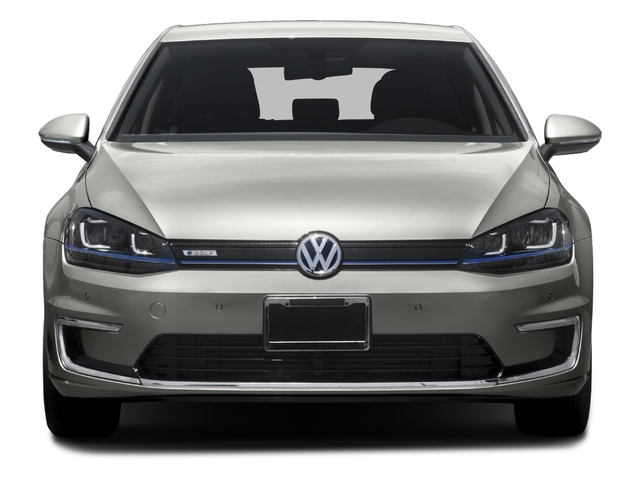 2015 Volkswagen e-Golf Pictures e-Golf Hatchback 4D e-Golf Electric photos front view