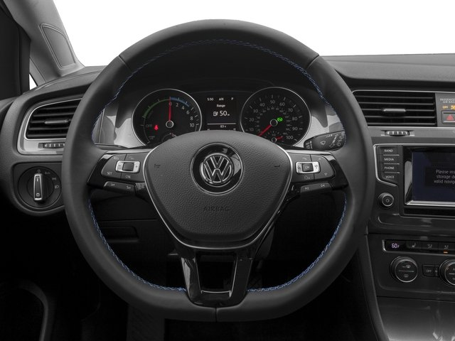 2015 Volkswagen e-Golf Pictures e-Golf Hatchback 4D e-Golf Electric photos driver's dashboard