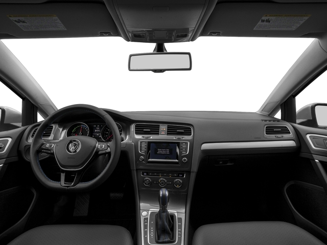 2015 Volkswagen e-Golf Pictures e-Golf Hatchback 4D e-Golf Limited Electric photos full dashboard