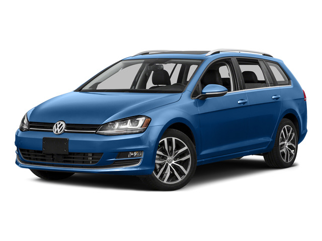 2015 Volkswagen Golf SportWagen Prices and Values Wagon 4D S I4 side front view
