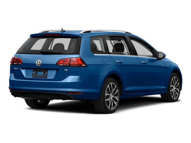 2015 Volkswagen Golf SportWagen Prices and Values Wagon 4D S I4 side rear view