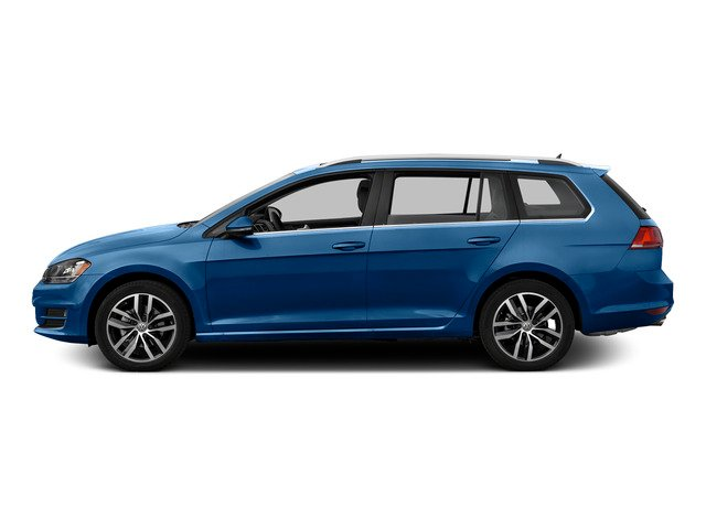 2015 Volkswagen Golf SportWagen Prices and Values Wagon 4D S I4 side view