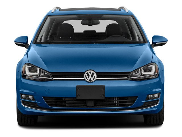2015 Volkswagen Golf SportWagen Prices and Values Wagon 4D S I4 front view