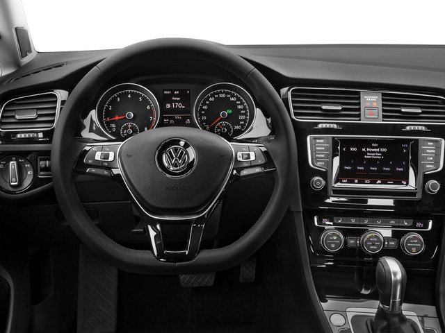 2015 Volkswagen Golf SportWagen Prices and Values Wagon 4D S I4 driver's dashboard
