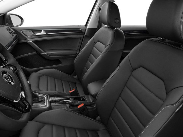 2015 Volkswagen Golf SportWagen Prices and Values Wagon 4D S I4 front seat interior
