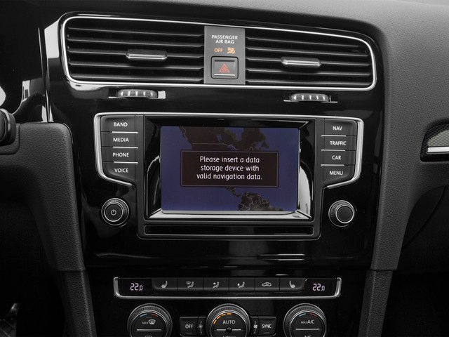 2015 Volkswagen Golf SportWagen Prices and Values Wagon 4D S I4 navigation system