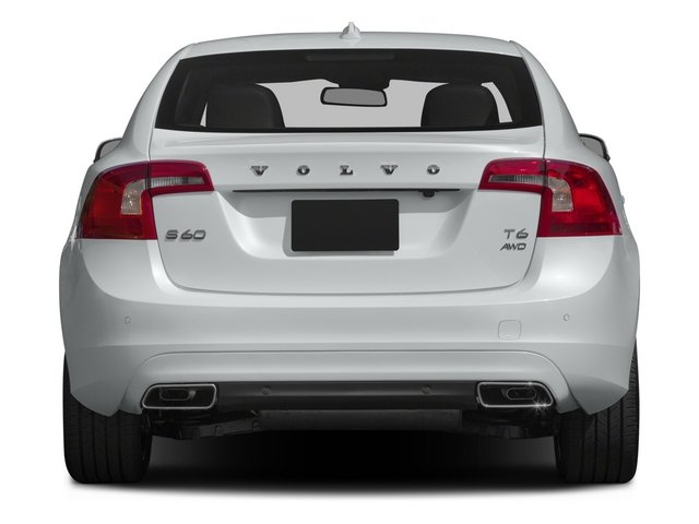 2015 Volvo S60 Prices and Values Sedan 4D T5 Drive-E I4 Turbo rear view