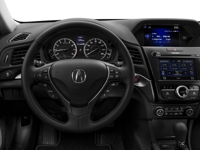 2016 Acura ILX Prices and Values Sedan 4D Premium I4 driver's dashboard