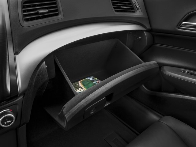 2016 Acura ILX Pictures ILX Sedan 4D I4 photos glove box