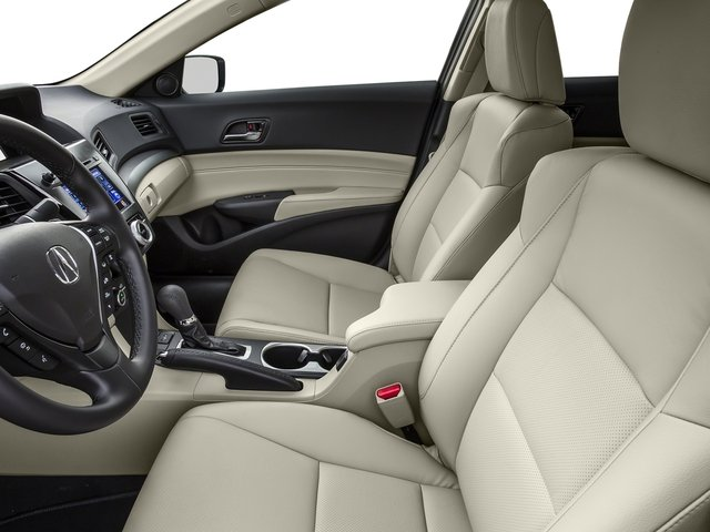 2016 Acura ILX Prices and Values Sedan 4D Technology Plus I4 front seat interior