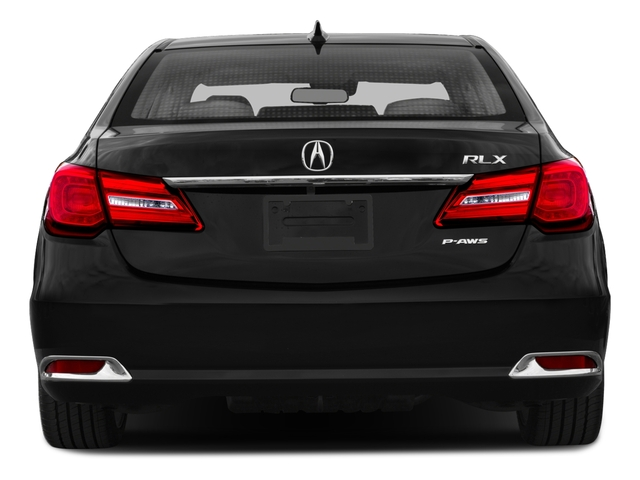 2016 Acura RLX Prices and Values Sedan 4D Navigation V6 rear view