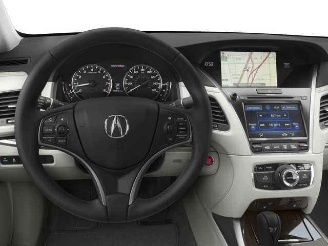 2016 Acura RLX Prices and Values Sedan 4D Navigation V6 driver's dashboard