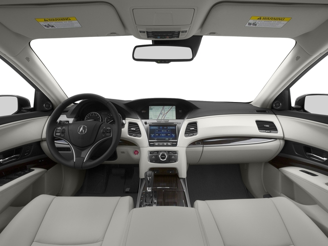 2016 Acura RLX Prices and Values Sedan 4D Navigation V6 full dashboard
