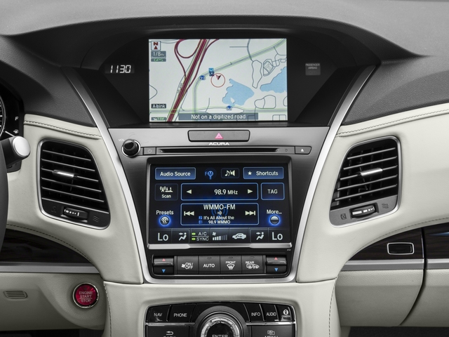 2016 Acura RLX Pictures RLX Sedan 4D Advance V6 photos stereo system