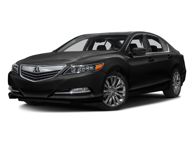 2016 Acura RLX Prices and Values Sedan 4D Technology V6 side front view
