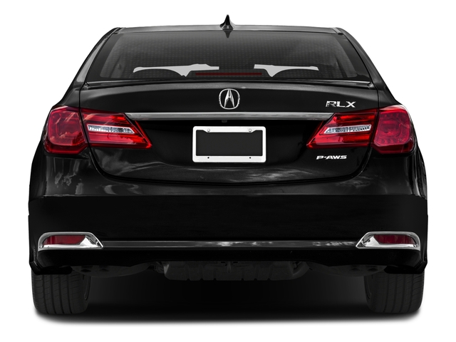 2016 Acura RLX Prices and Values Sedan 4D Technology V6 rear view